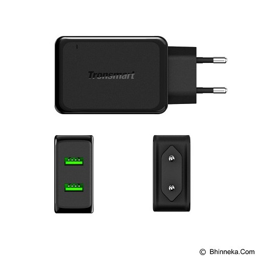 TRONSMART Wall Charger Quick Charge 2.0 2 Port [WC2F] (Merchant) - Universal Charger Kit