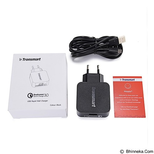 TRONSMART Wall Charger Quick Charge 3.0 1 Port [WC1T] (Merchant) - Universal Charger Kit