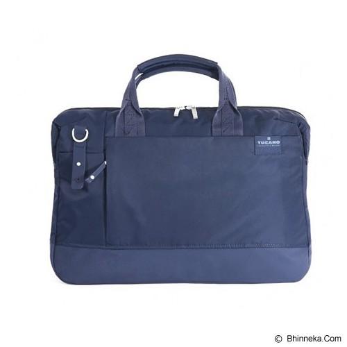 TUCANO Business Bag for Notebooks And Ultrabook 13 inch [BAG-TUC-BAGIO13-B] - Blue - Notebook Shoulder / Sling Bag