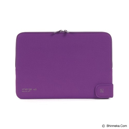 TUCANO Charge_Up Second Skin [BFCUPMB11-PP] - Purple - Notebook Sleeve