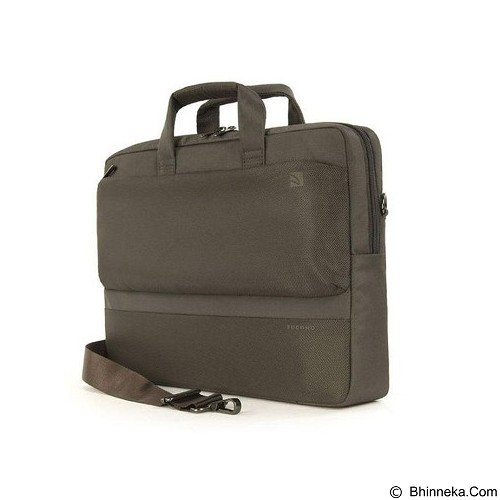 TUCANO Dritta Slim Case MacBook Pro up to 13 Inch [BDR1314-C] - Chocolate (Merchant) - Notebook Shoulder / Sling Bag