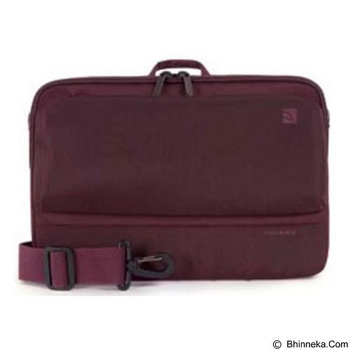 TUCANO Dritta Slim Case for MacBook Air 11 Inch - Burgundy (Merchant) - Notebook Shoulder / Sling Bag