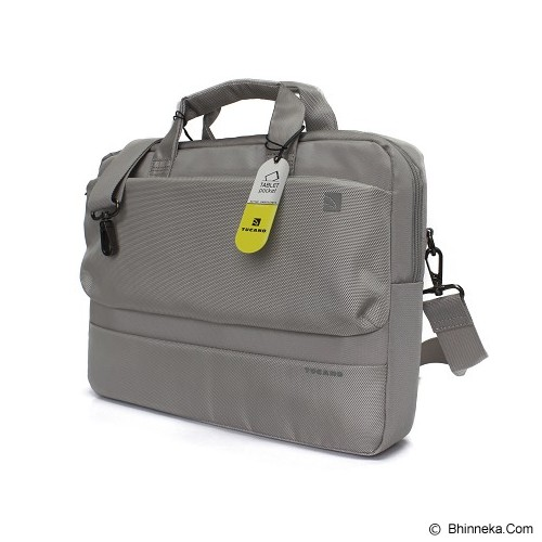 TUCANO Dritta Slim for 13 inch [BDR1314-SL] - Silver - Notebook Shoulder / Sling Bag