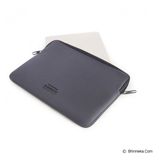 TUCANO Elements Second Skin [BF-E-MB12-SG] - Grey - Notebook Sleeve