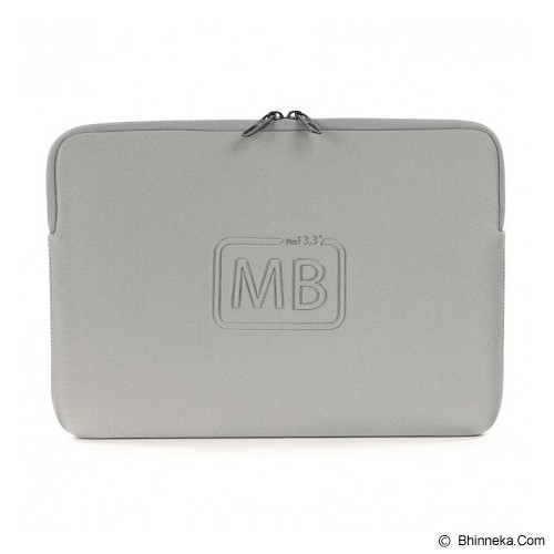 TUCANO Elements Second Skin [BF-E-MB13-SL] - Silver - Notebook Sleeve