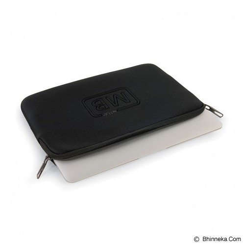 TUCANO Elements Second Skin [BF-E-MBA11] - Black - Notebook Sleeve