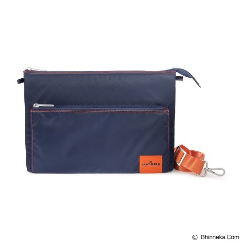 TUCANO Lampo Slim Bag [BLAM-B] - Blue (Merchant) - Notebook Shoulder / Sling Bag