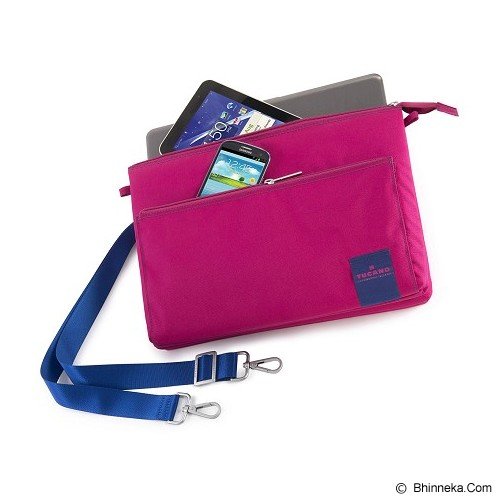 TUCANO Lampo Slim Bag [BLAM-F] - Fuchsia (Merchant) - Notebook Shoulder / Sling Bag