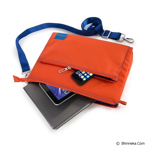TUCANO Lampo Slim Bag [BLAM-O] - Orange - Notebook Shoulder / Sling Bag