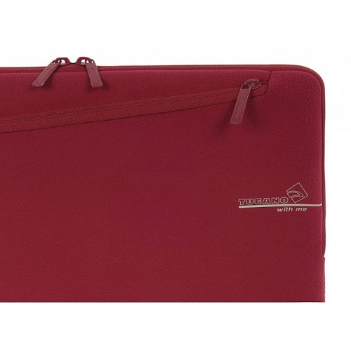 TUCANO With Me Second Skin [BFWM-MB13-R] - Red - Notebook Sleeve