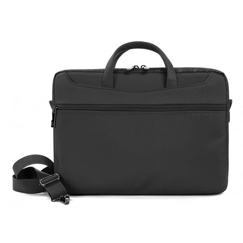 TUCANO Work_Out II Slim [WO2-MB13] - Black - Notebook Shoulder / Sling Bag
