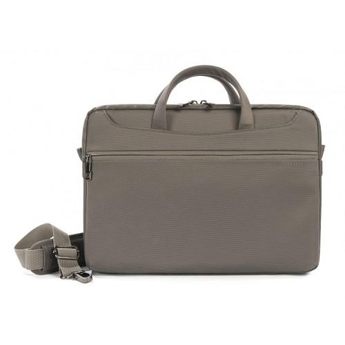TUCANO Work_Out II Slim [WO2-MB13-G] - Grey - Notebook Shoulder / Sling Bag