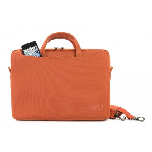 TUCANO Work_Out II Slim [WO2-MB13-O] - Orange - Notebook Shoulder / Sling Bag