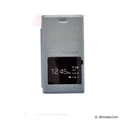 TUNEDESIGN FolioAir for Blackberry Z3 - Grey - Casing Handphone / Case