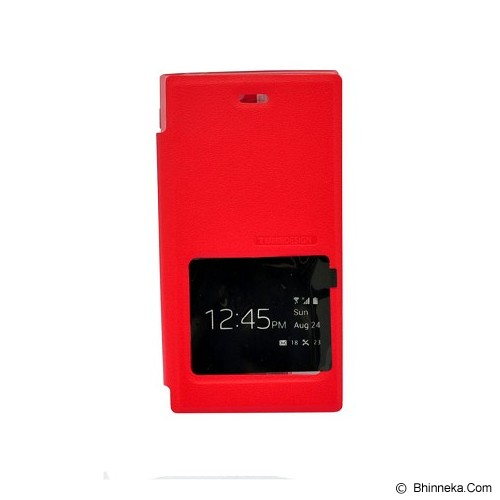 TUNEDESIGN FolioAir for Blackberry Z3 - Red - Casing Handphone / Case