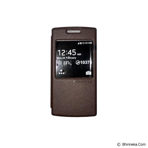TUNEDESIGN FolioAir for Oppo Find 7 - Brown - Casing Handphone / Case