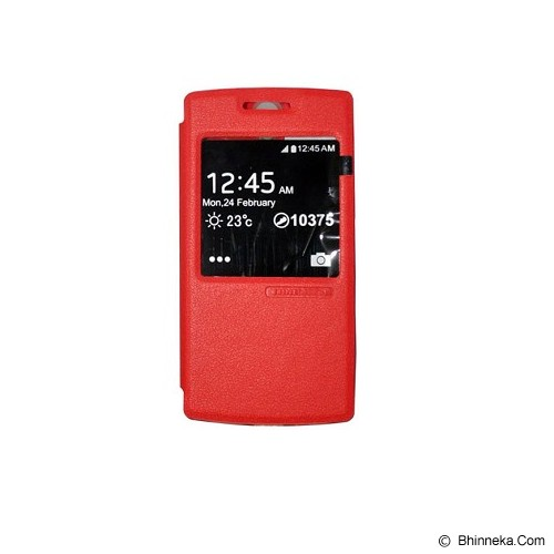 TUNEDESIGN FolioAir for Oppo Find 7 - Red - Casing Handphone / Case