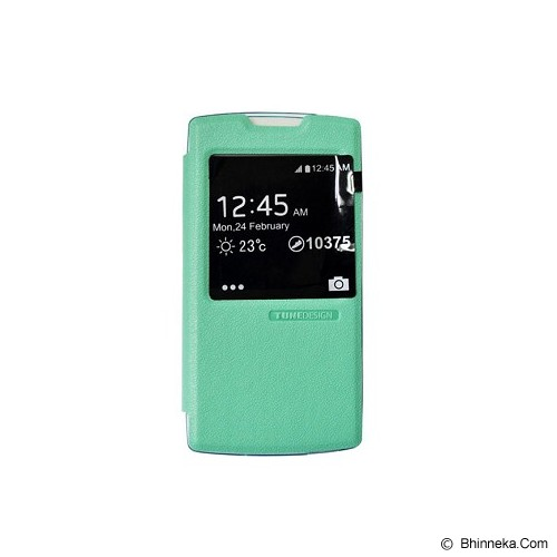 TUNEDESIGN FolioAir for Oppo Yoyo - Green - Casing Handphone / Case
