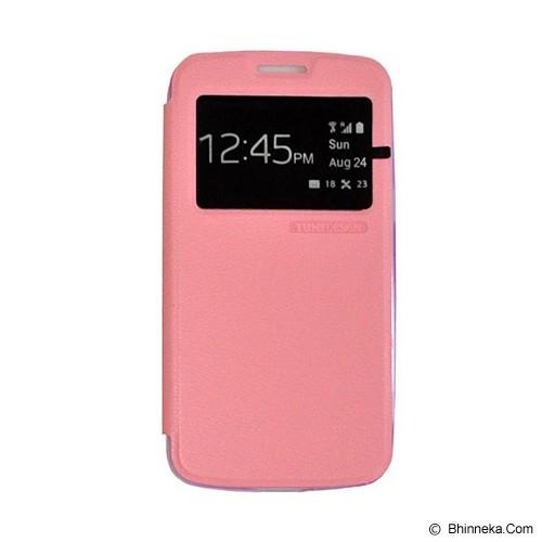 TUNEDESIGN FolioAir for Samsung Galaxy Core 2 - Pink - Casing Handphone / Case