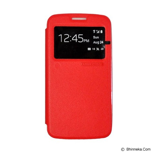 TUNEDESIGN FolioAir for Samsung Galaxy Core 2 - Red - Casing Handphone / Case