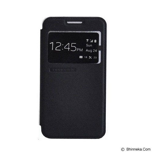 TUNEDESIGN FolioAir for Samsung Galaxy Grand Max - Black - Casing Handphone / Case