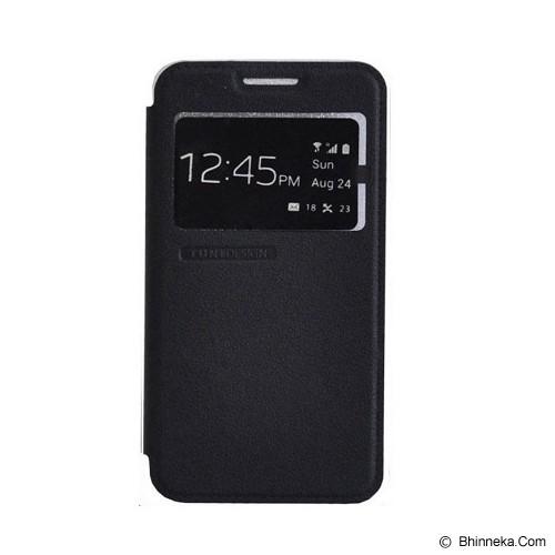 TUNEDESIGN FolioAir for Samsung Galaxy J1 - Black - Casing Handphone / Case