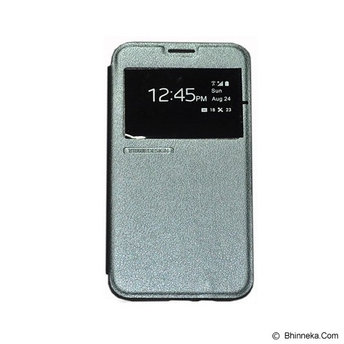 TUNEDESIGN FolioAir for Samsung Galaxy J1 - Grey - Casing Handphone / Case