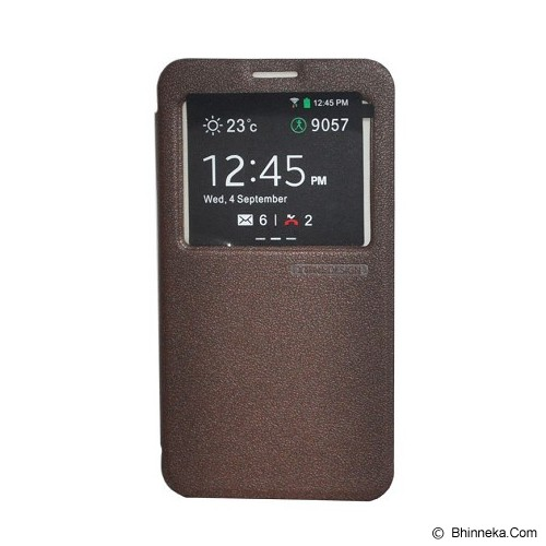 TUNEDESIGN FolioAir for Samsung Galaxy Note 3 - Brown - Casing Handphone / Case