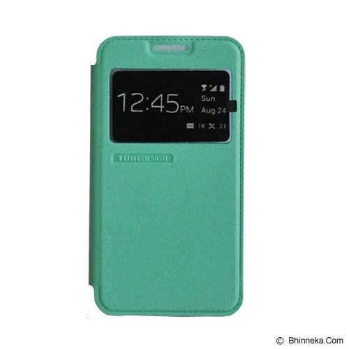 TUNEDESIGN FolioAir for Samsung Galaxy Note 4 - Green - Casing Handphone / Case