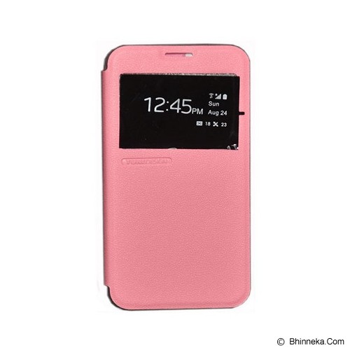 TUNEDESIGN FolioAir for Samsung Galaxy Note 4 - Pink - Casing Handphone / Case