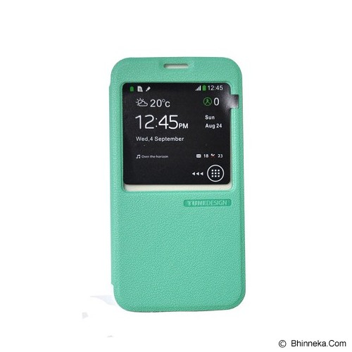 TUNEDESIGN FolioAir for Samsung Galaxy S5 - Green - Casing Handphone / Case