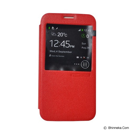 TUNEDESIGN FolioAir for Samsung Galaxy S5 - Red - Casing Handphone / Case