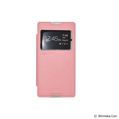 TUNEDESIGN FolioAir for Sony Xperia C3 - Pink - Casing Handphone / Case