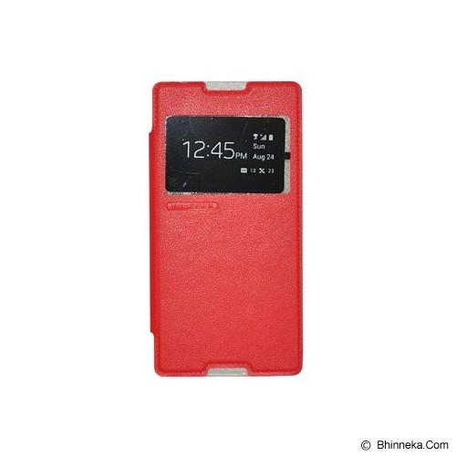 TUNEDESIGN FolioAir for Sony Xperia C3 - Red - Casing Handphone / Case