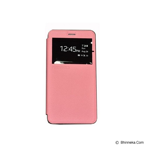 TUNEDESIGN FolioAir for Xiaomi Redmi Note 2 - Pink - Casing Handphone / Case