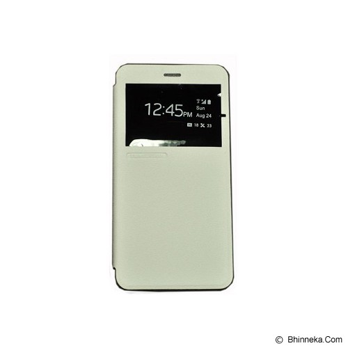TUNEDESIGN FolioAir for Xiaomi Redmi Note 2 - White - Casing Handphone / Case