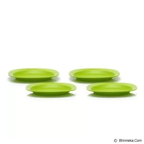 TUPPERWARE Blossom Plate 4Pcs - Piring Makan