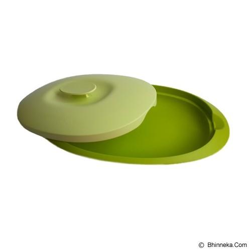 TUPPERWARE Blossom Serving Platter - Hijau - Wadah Makanan