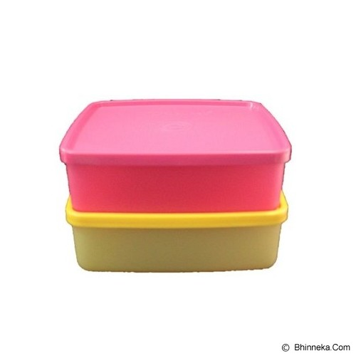 TUPPERWARE Large Square Away 2pcs - Wadah Makanan