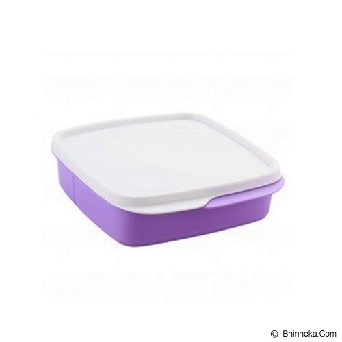 TUPPERWARE Lolly Tup - Ungu - Lunch Box / Kotak Makan / Rantang