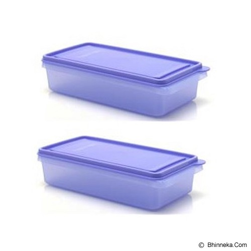 TUPPERWARE Medium Stak N Stor 2 - Purple - Lunch Box / Kotak Makan / Rantang