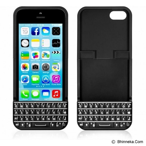 official photos bd51d 2cc19 TYPO Keyboard Case for iPhone 5/5s - Black