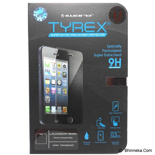TYREX BlackBerry Dakota 9900 Tempered Glass Screen Protector - Screen Protector Handphone