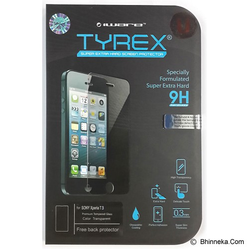 TYREX Sony Xperia T3 Tempered Glass Screen Protector - Screen Protector Handphone