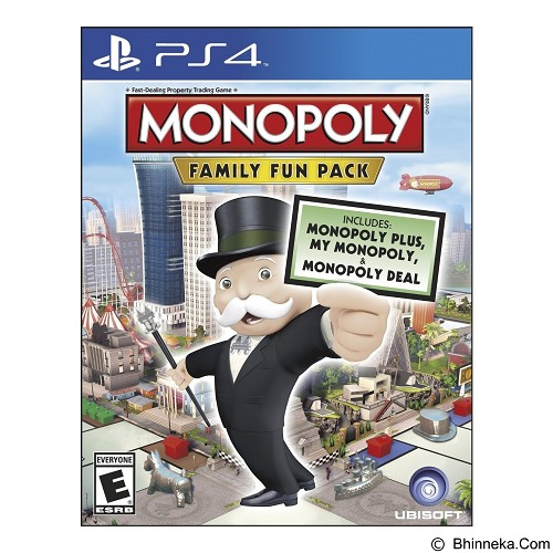 UBISOFT DVD PlayStation 4 Monopoly Family Fun Pack (Merchant) - CD / DVD Game Console