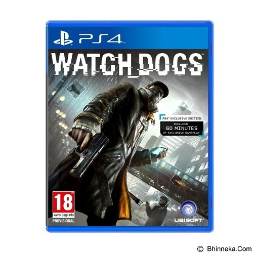 UBISOFT DVD PlayStation 4 Watch Dog (Merchant) - CD / DVD Game Console