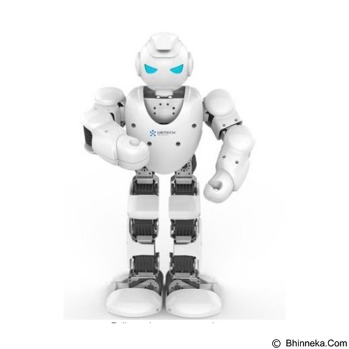 UBTECH Alpha 1S Intelligent Humanoid Robotic - White (Merchant) - Rocket and Space Ship Remote Control