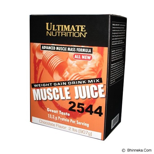 ULTIMATE NUTRITION Muscle Juice 2lbs 907gr - Chocolate - Suplement Penambah Daya Tahan Tubuh