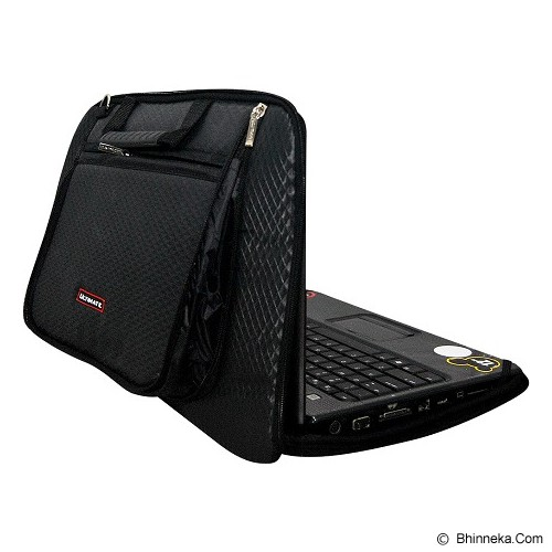 ULTIMATE Tas Laptop Single Diamond MX 12 Inch - Black - Notebook Carrying Case