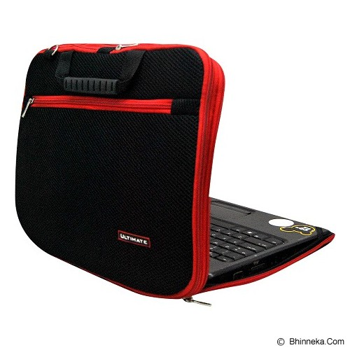 ULTIMATE Tas Laptop Double New RX 14 inch - Red - Notebook Shoulder / Sling Bag